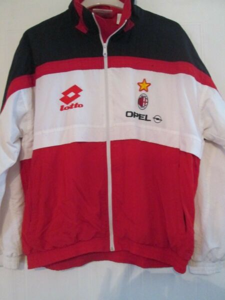 1994-1995 AC Milan Training Football Track Suit Jacket Trousers XL (7912)