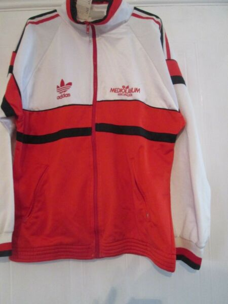 1990 AC Milan Intercontinental Cup Football Track Suit Jacket Medium (15390)