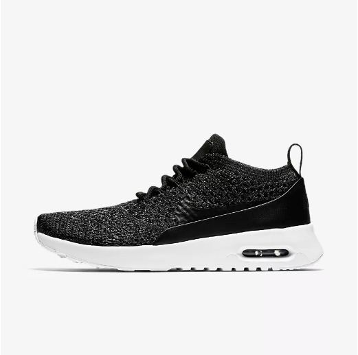 db23cb0838f7 Details about New Nike Women s Air Max Thea Ultra Flyknit Shoes (881175-007)  Black Summit Wht