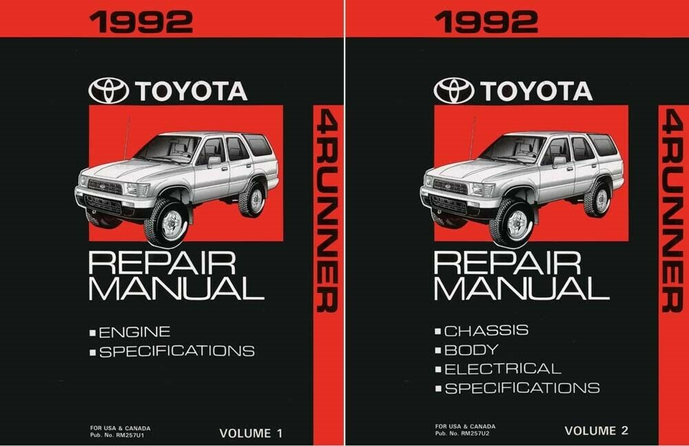 1992 toyota pickup service manual how to and user guide instructions u2022 rh taxibermuda co 92 Toyota Pickup Parts 93 toyota pickup repair manual
