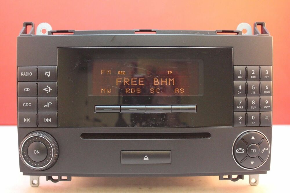 mercedes a b class audio 20 mf2550 cd radio player car. Black Bedroom Furniture Sets. Home Design Ideas
