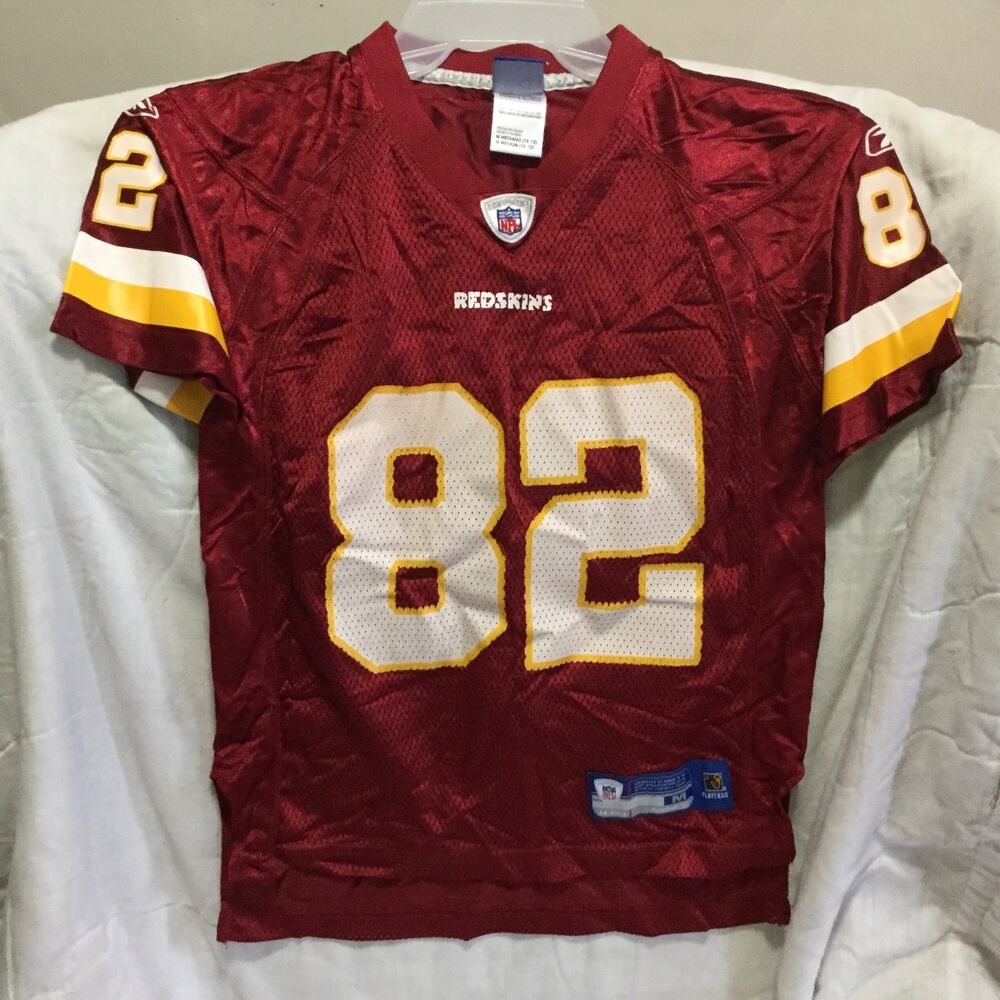 31d1c9d99 WASHINGTON REDSKINS REEBOK NFL JERSEY  82 ( SIZE MEDIUM 10-12 ) BOY`S NICE  !!