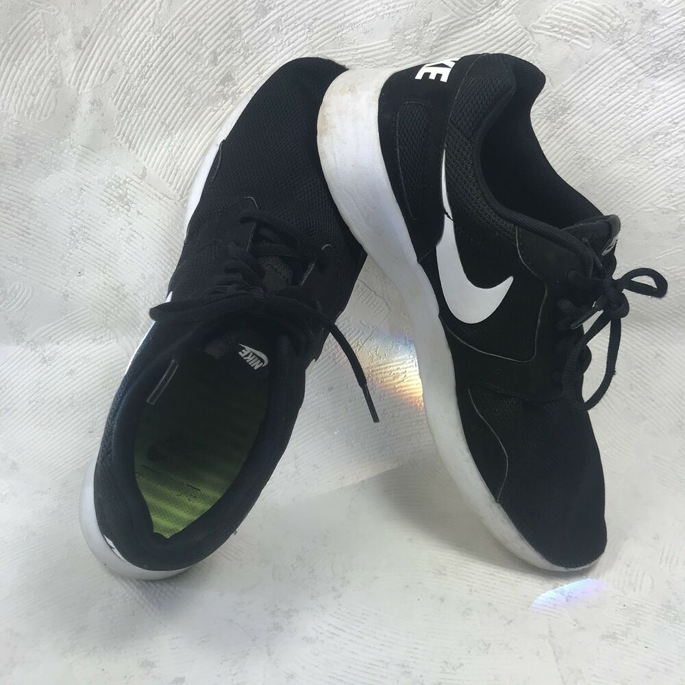 sports shoes 68232 6019f ... sweden details about mens nike kaishi run size 11 us black white 21d30  4bf74