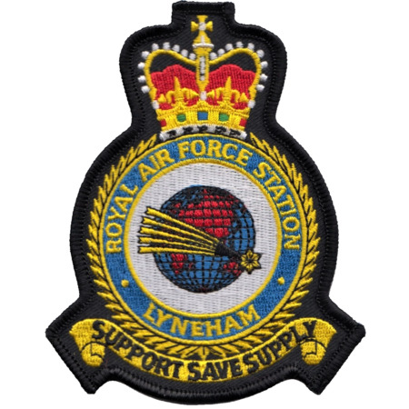 img-RAF Lyneham Royal Air Force MOD Crest Embroidered Patch