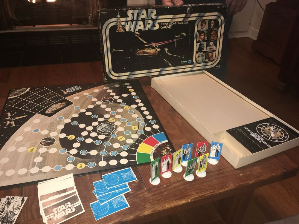 Star Wars Escape From Death Star Board Game Vintage Kenner ...