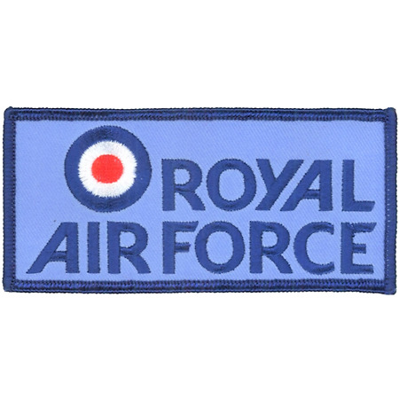 img-Royal Air Force RAF Logo MOD Embroidered Patch