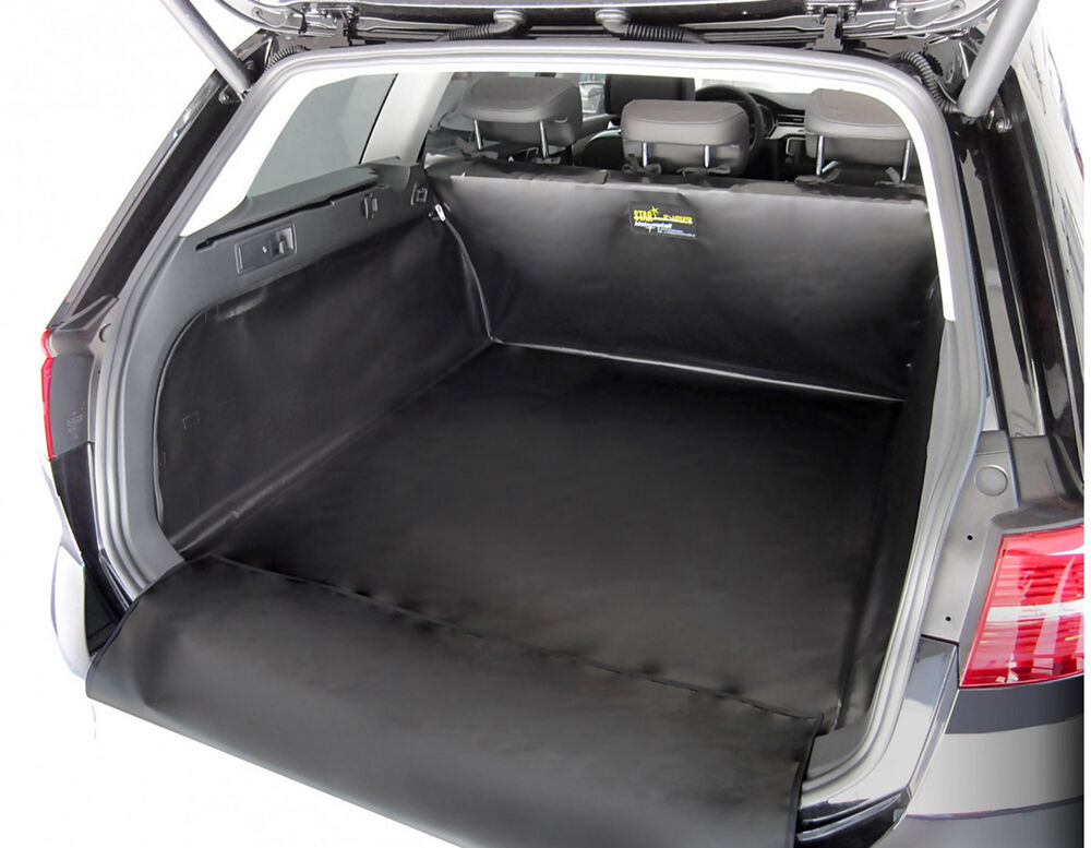 f r vw tiguan allspace 7 sitzer kofferraum auskleidung mit sto stangenschutz ebay. Black Bedroom Furniture Sets. Home Design Ideas