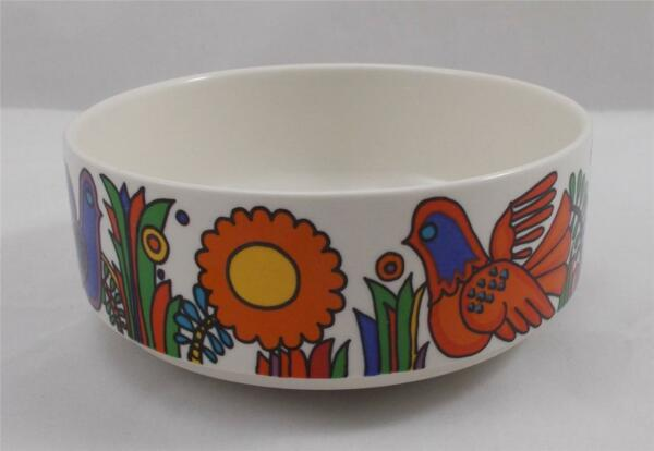 Villeroy & and Boch ACAPULCO breakfast / dessert bowl 12.5cm EXC blue stamp