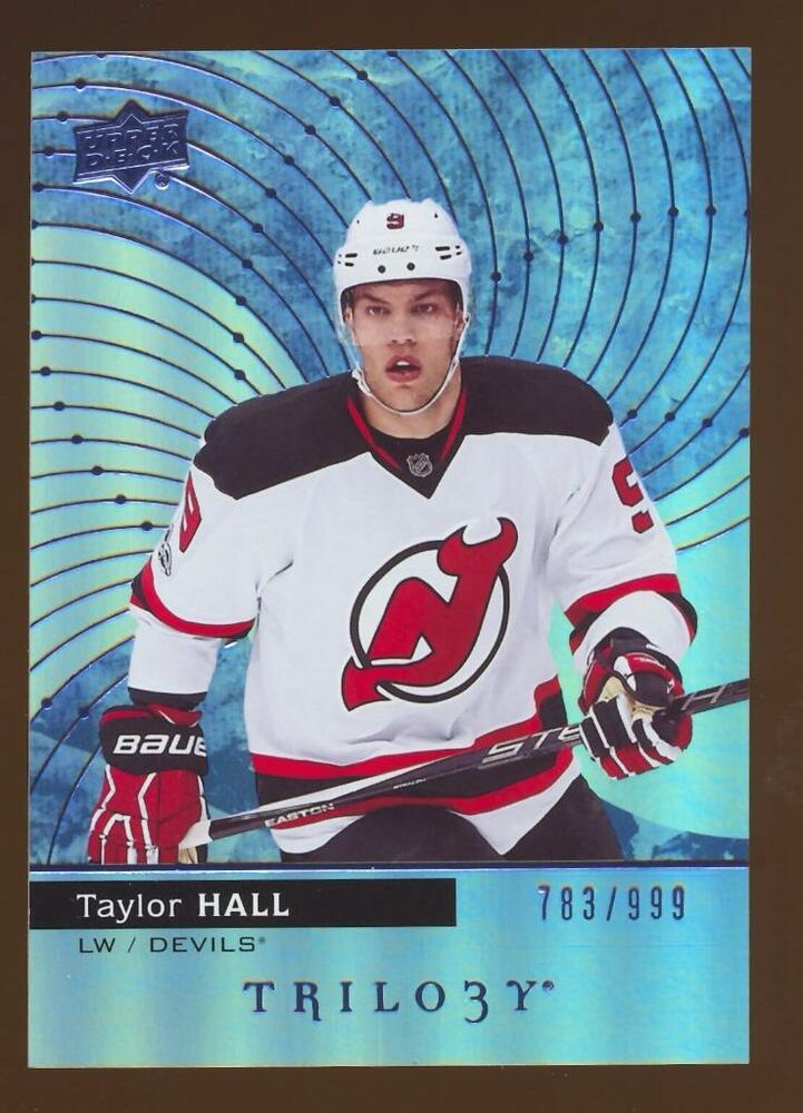 Details about 2017-18 TRILOGY HOCKEY TAYLOR HALL  30 NJ DEVILS  783 999 6ad406f2c