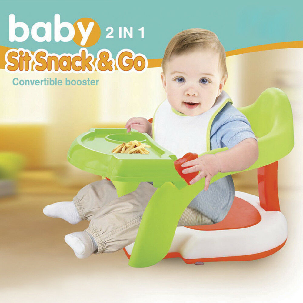 2-in-1 Baby Bath Tub Chair Toddler Training Dinning Booster ...