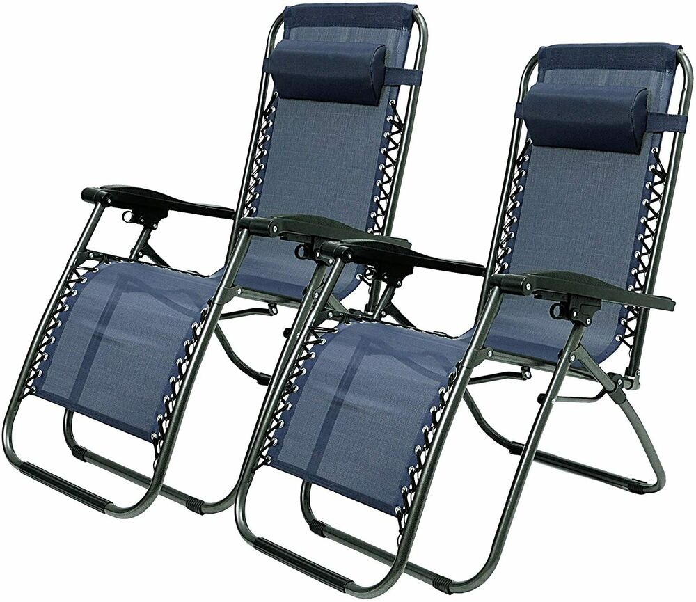 Outdoor Chaise Lounge Portable Folding Chairs Camping