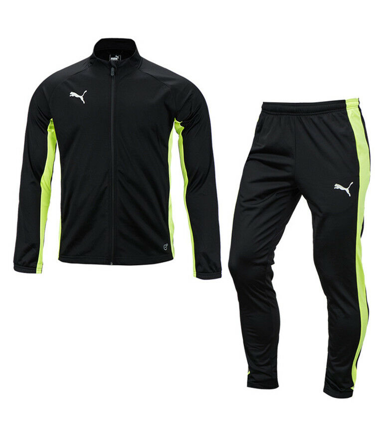 70903b15d661 Details about Puma Football Next Poly Track Suit Set (65583304) Running Tracksuit  Jacket Pants
