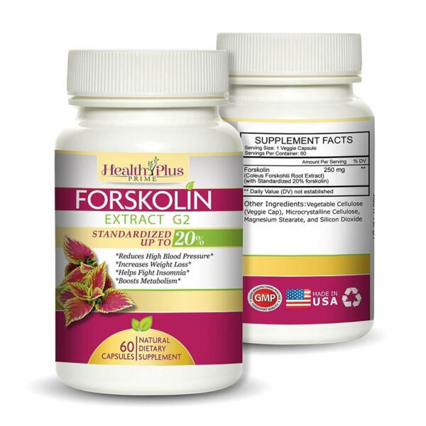 Forskolin for Weight Loss Appetite Suppressant Supplement Capsules Keto Diet