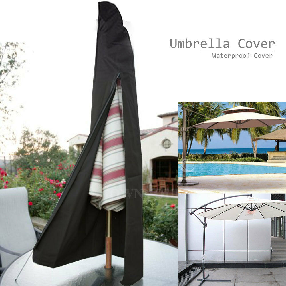 Large Cantilever Parasol Umbrella Waterproof Cover Garden Patio