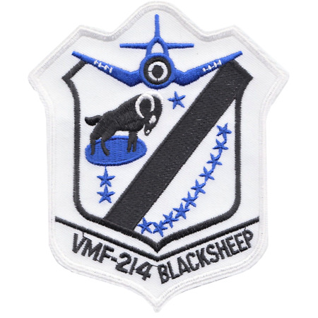 img-Marine Fighter Squadron 214 VMAF-214 US Marine Corps USMC Embroidered Patch