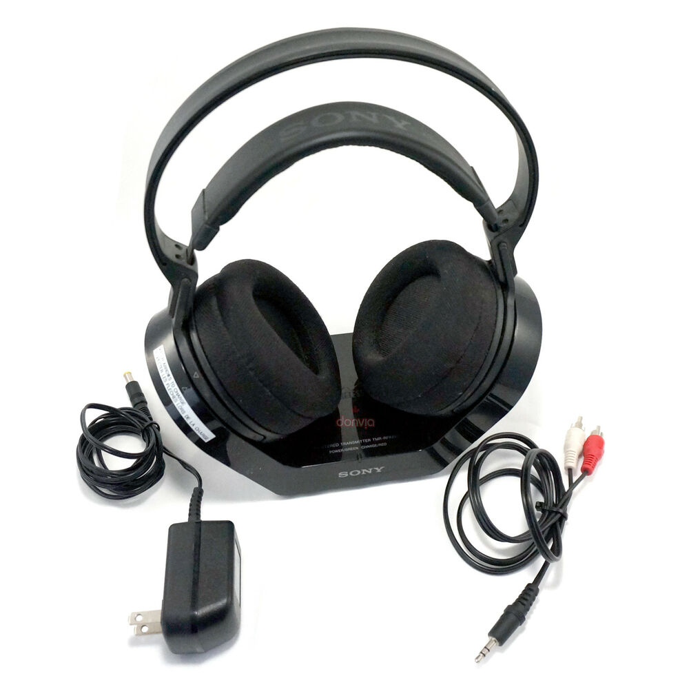 Details About Sony MDR RF925RK 900MHz Wireless Headphones
