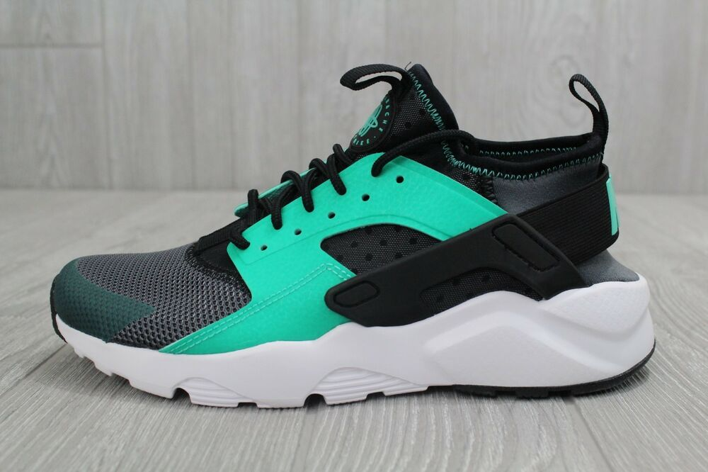 3eff3ee786276 Details about 27 Nike Air Huarache Basketball Shoes Training Green Black  819685 003 Mens 6.5