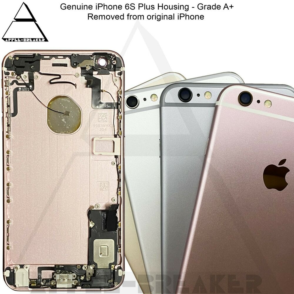 apple iphone 6s plus 5 5 rear back chassis housing with original parts grade a ebay. Black Bedroom Furniture Sets. Home Design Ideas