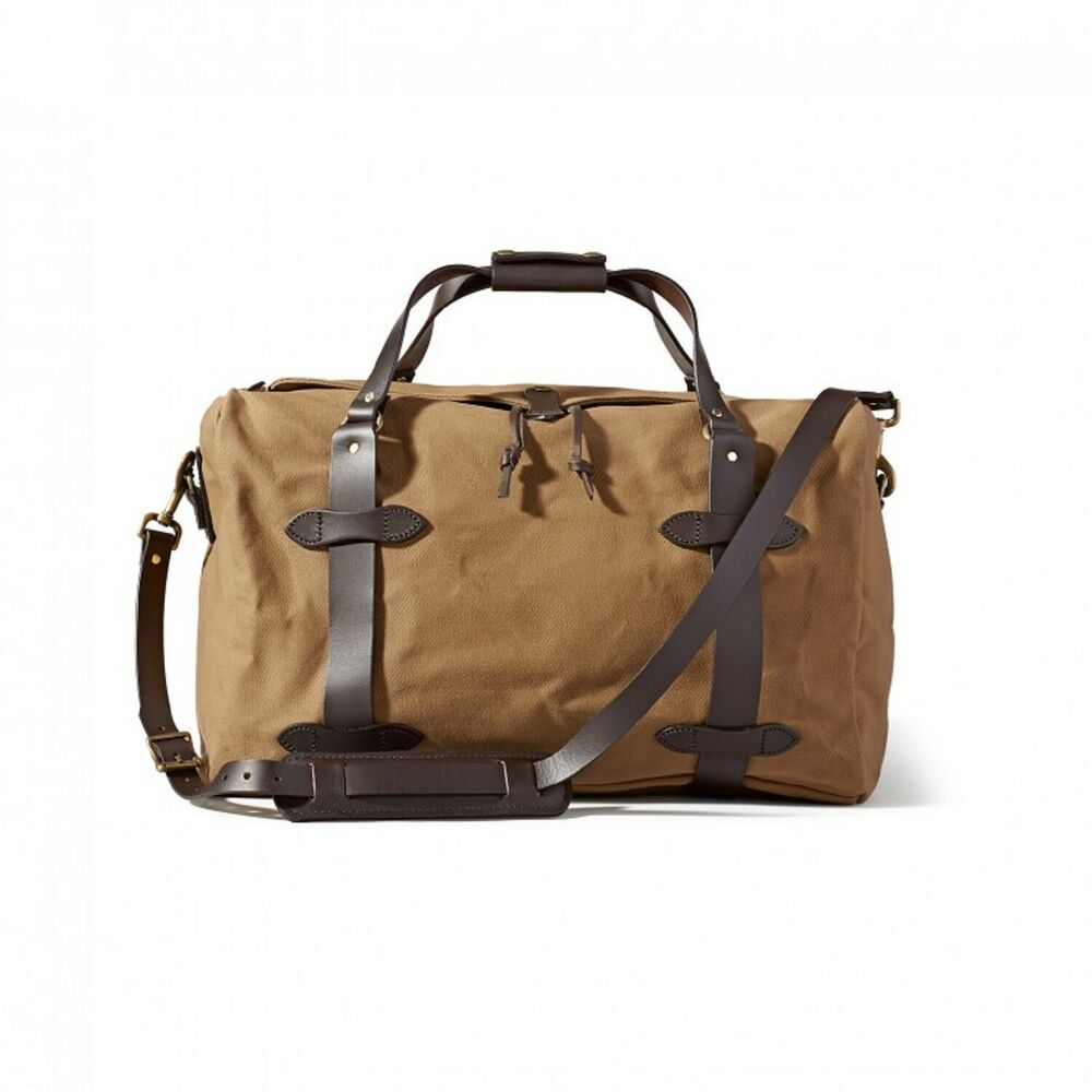 1e2538c565 Details about Filson 70325 Medium Duffle Bag Carry On Travel and Field No.  11070325 TAN NEW!