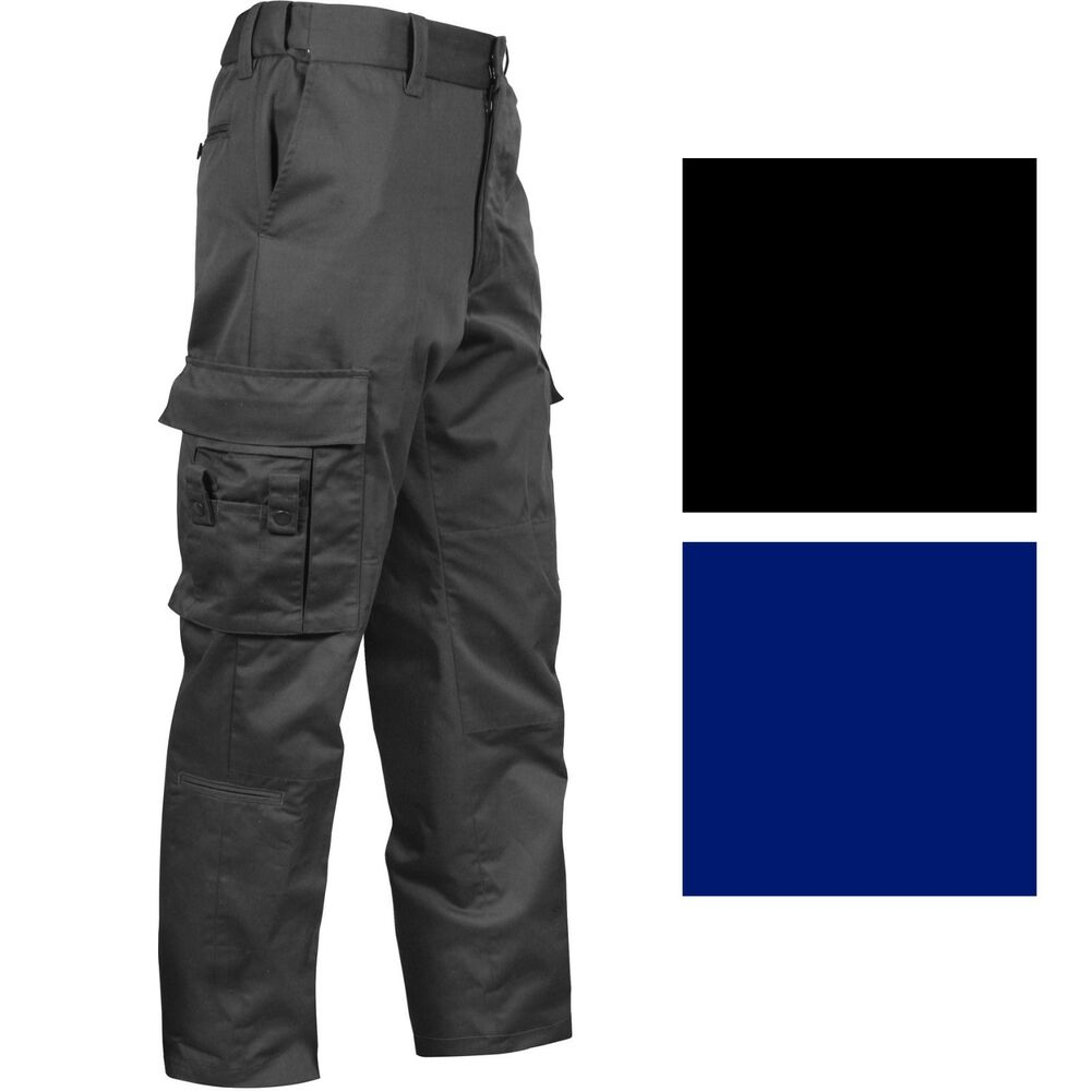 Details about Deluxe EMT EMS Pants 16 Pockets Tactical Uniform Cargo Work  Duty Paramedic Medic a8d51c01360b