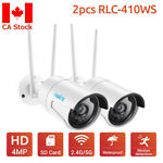 Wireless WiFi HD 1440P Home Security Camera 2.4/5G Onvif Audio Reolink RLC-410WS