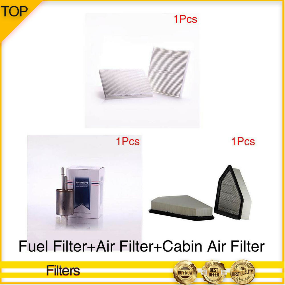 Pronto Filter-Fuel+Air+Cabin Air Filter 3PCS For 2008