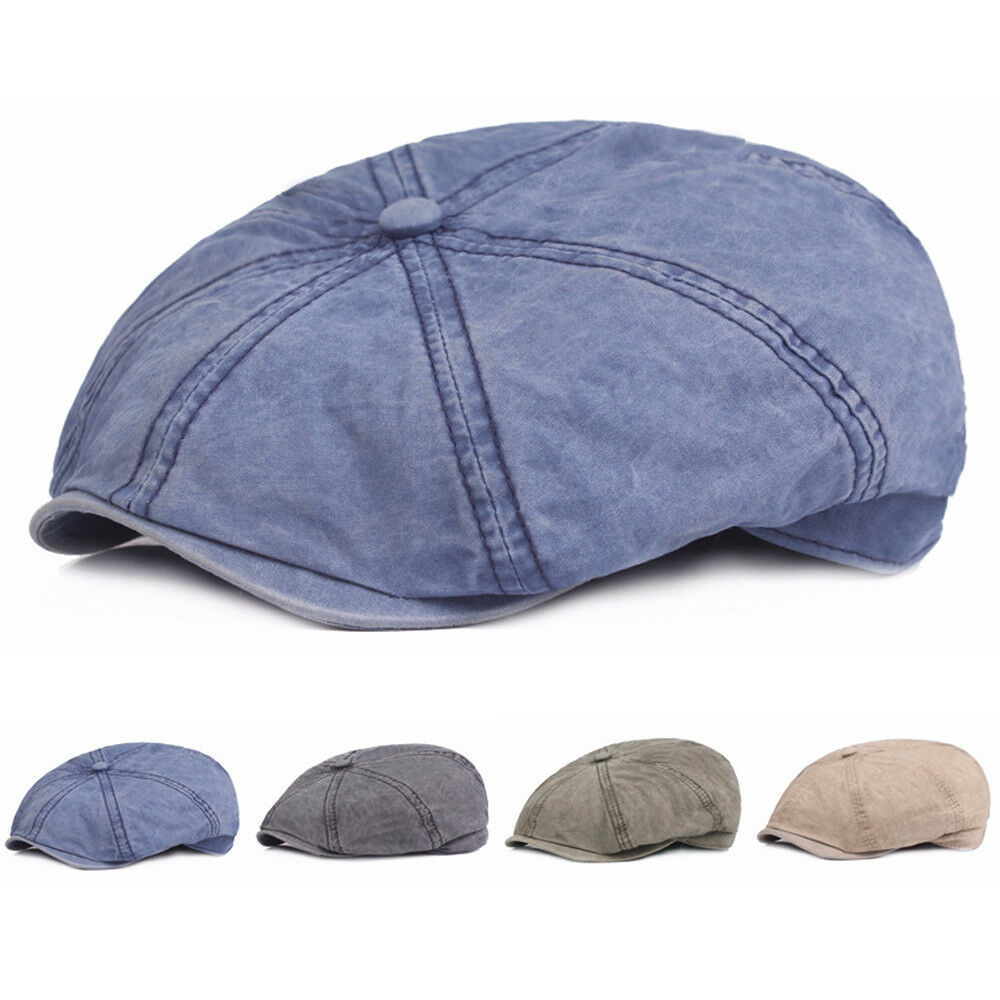 Unisex Men Women Newsboy Octagonal Cap Driving Cabbie Gatsby Hat New Stylish 36e18df9f19