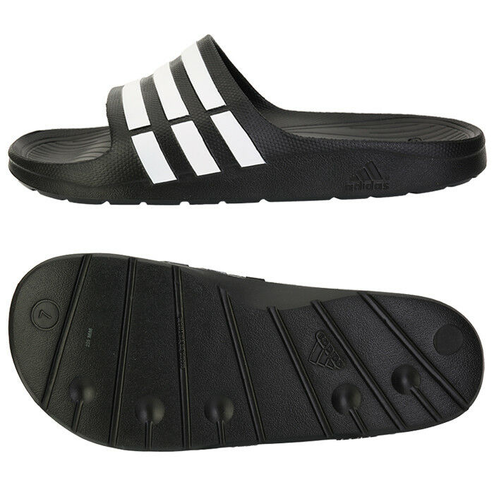 first rate d8fc0 def8b Details about Adidas Duramo Slide (G15890) Slides Sports Sandals Slippers  Flip-Flops