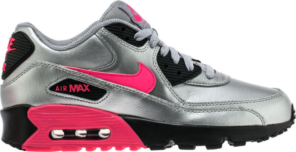 best service 8e2fc 2499d Details about NIKE AIR MAX 90 GS LEATHER WOMEN NEW With BOX!