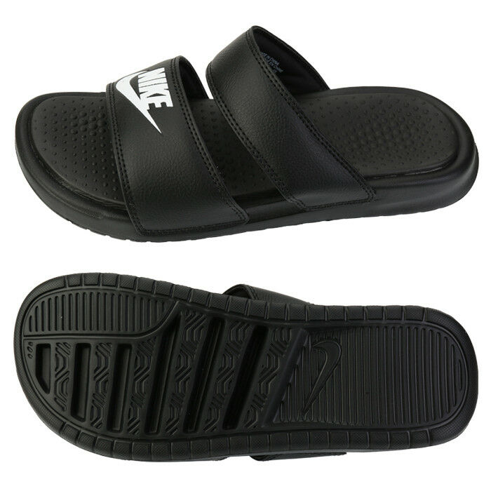 c09418c97e5282 Details about Nike Women s Benassi Duo Ultra Slides (819717-010) Sports  Sandals Slippers
