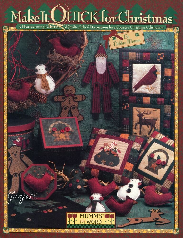 Make It Quick For Christmas Decor Amp Gifts Debbie Mumm