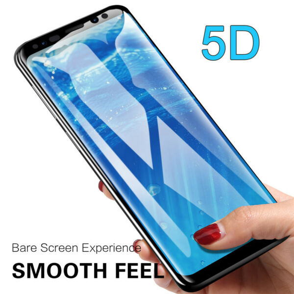 5D Curved Full Tempered Glass Film Screen Protector for Samsung Galaxy S9 / S10+
