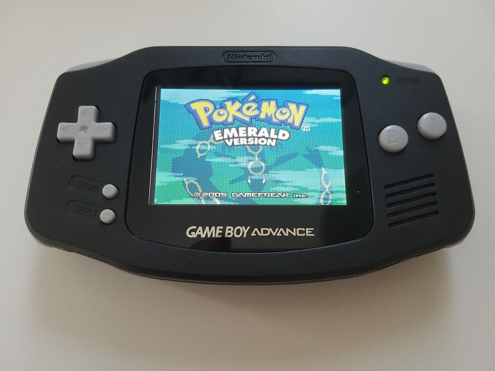 Game boy Advance GBA Console Black backlight AGS 101 - New ...