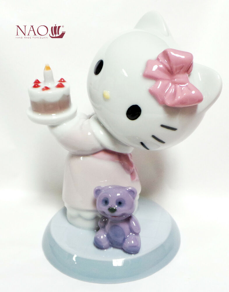 2c218a1e2 Nao by Lladro figurines Porcelain/China Hello Kitty collectables