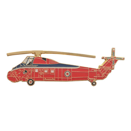 img-Westland Wessex Helicopter Royal Air Force RAF Queen's Flight Pin Badge