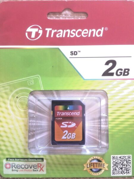 SD 2GB Transcend Memoria SD