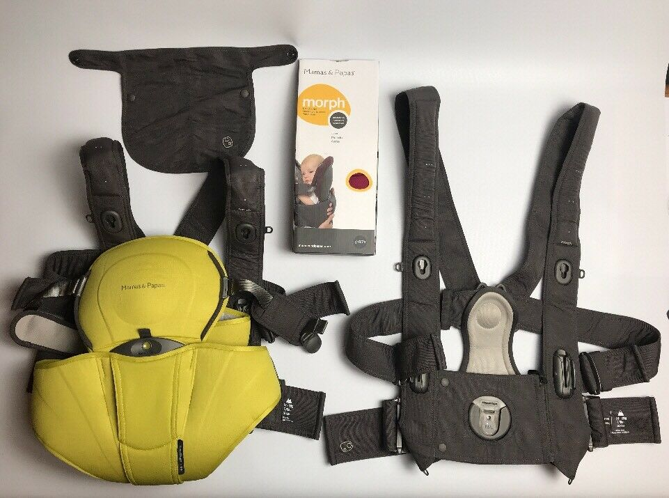 69ac4522653 Details about Mamas and papas morph baby carrier