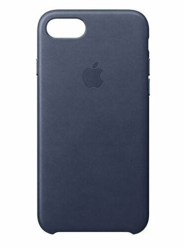 Genuine Apple - iPhone 7 Leather Case Midnight Blue (MMY32ZM/A) - Authentic - VG