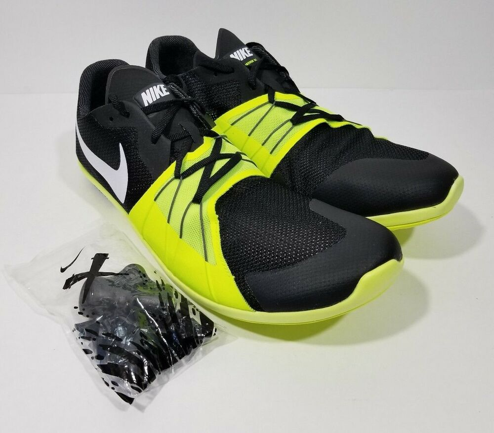 35183a2c31eb Details about Nike Zoom Forever 5 XC Mens Track Spike Black Volt Size 10.5