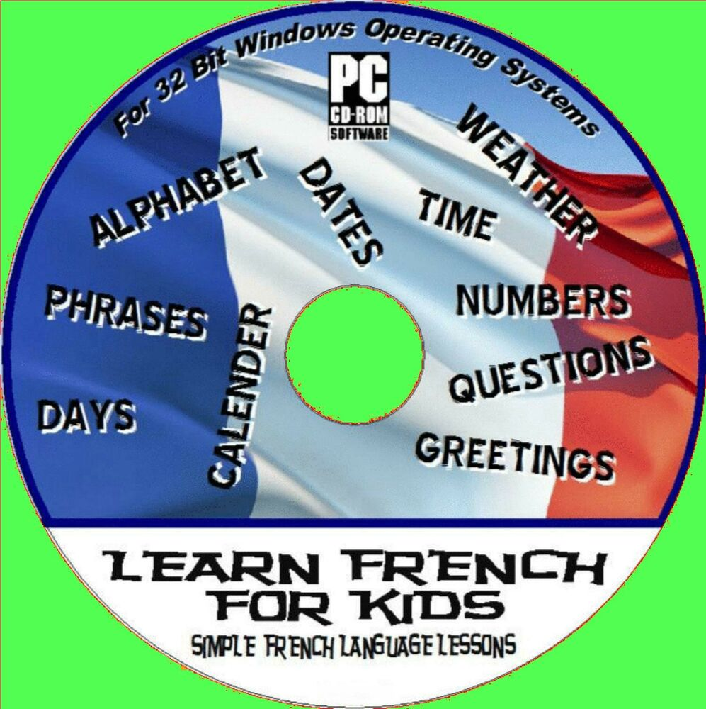 Learn French Childrens Kids Interactive Language Easy Training