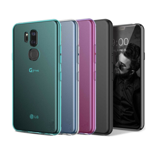 For LG G7 ThinQ / G7 / LM-G710 Case Glossy Shockproof TPU Slim Protective Cover