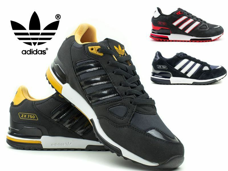 bf4b6ba7524 Details about ADIDAS ZX750 Casual Shoes Trainers Herren Sneaker Turnschuhe