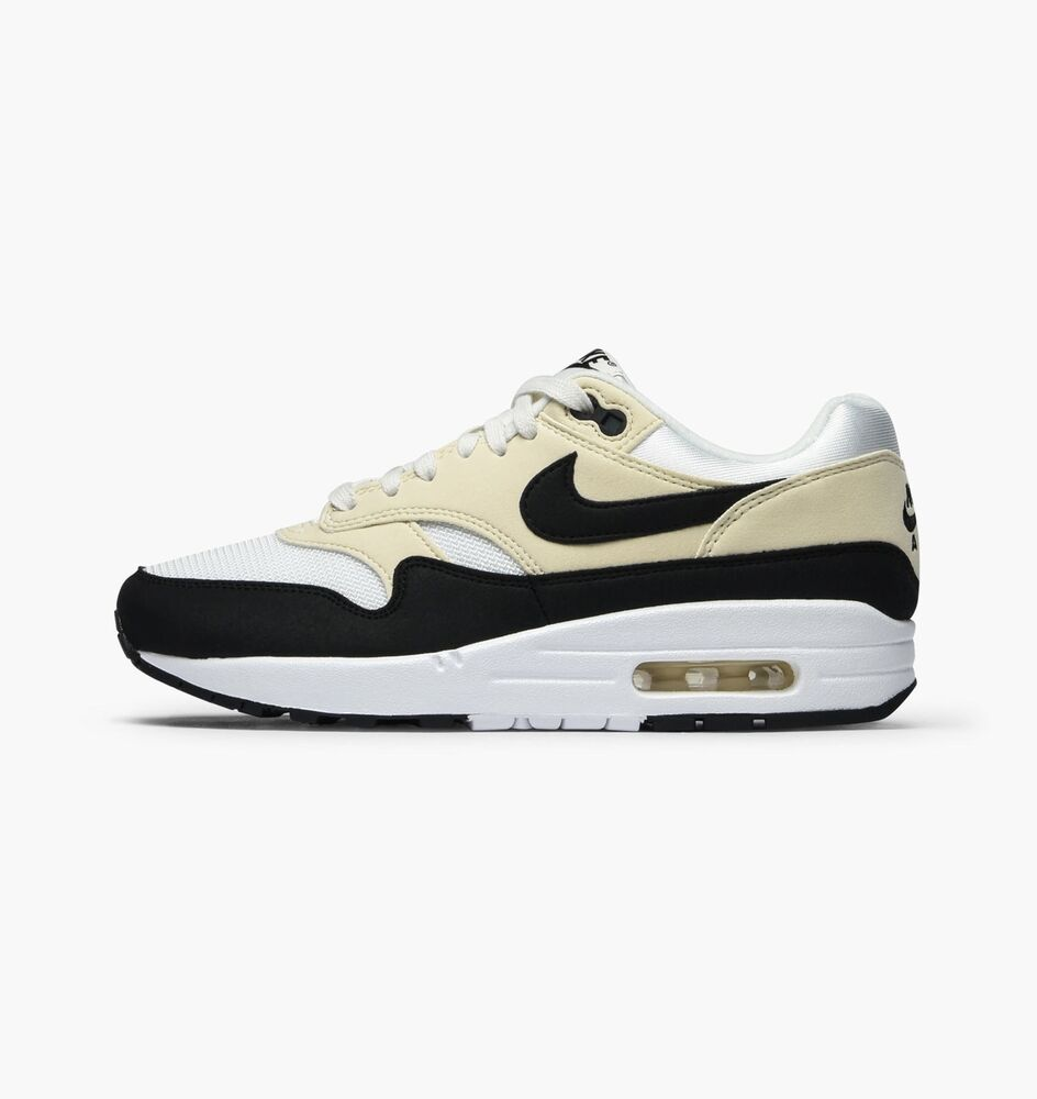 info for 49db5 0908e Nike Womens Air Max 1 Sail Black Fossil Trainers 319986 106   eBay