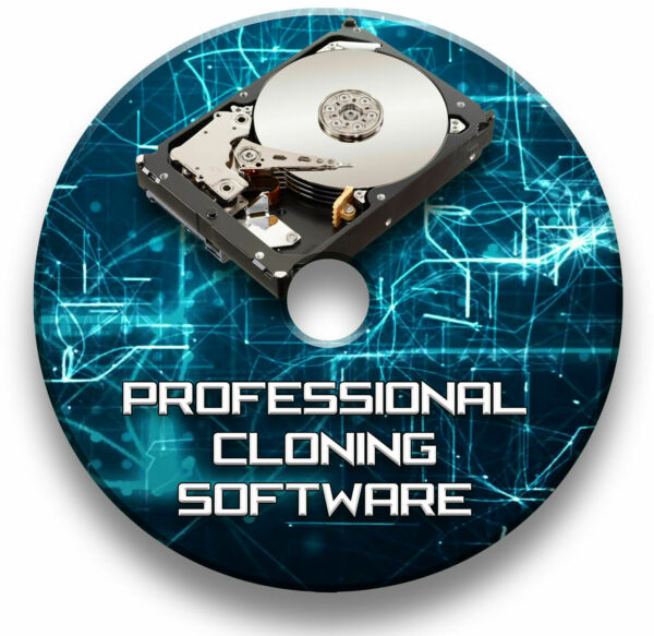 COPY HARD DRIVE CLONE DISK IMAGE BACK UP DUPLICATING SOFTWARE WINDOWS - ON DVD