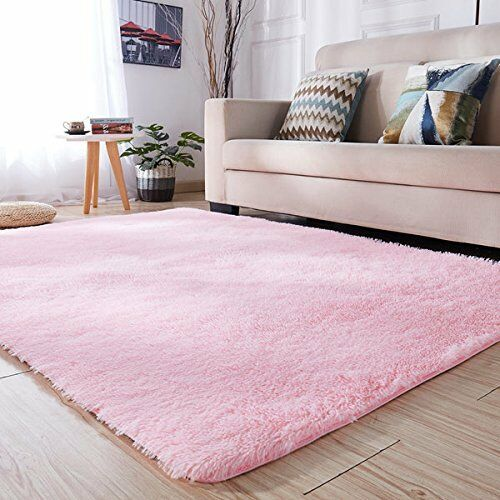 PAGISOFE Soft Girls Room Rug Baby Nursery Decor Kids Room
