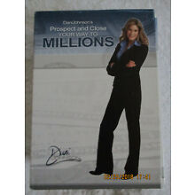 Dani Johnson CD/DVD Prospect Close Your way To Millions MLM Home Based Business