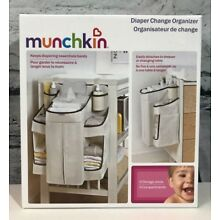 Munchkin Diaper Change Organizer 9 Storage Areas / Compartments Discontinued NEW