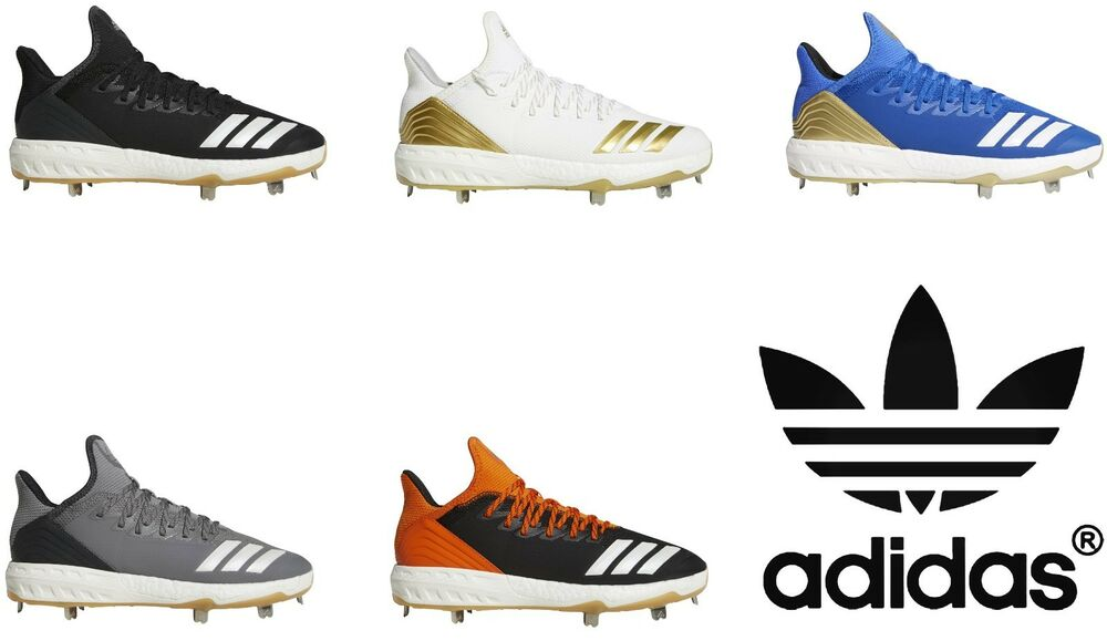 new product 239a9 ce82f Details about Adidas 2018 Boost Icon 4 Men s Baseball Metal Cleats Shoes  All Sizes Colors