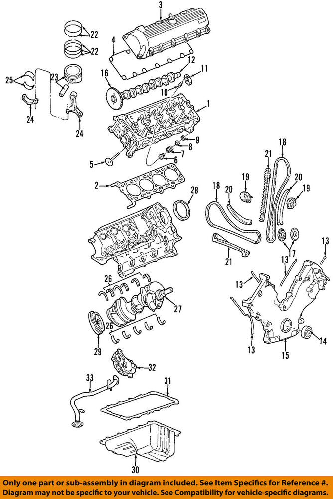 Ford Oemengine Timing Chain Guide 4l3z6m256aa Ebayrhebay: Ford F59 Engine Wiring Diagram At Gmaili.net