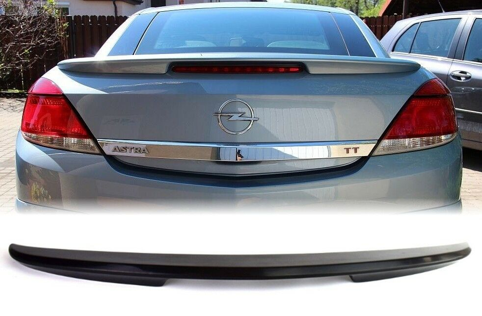 vauxhall astra h twintop boot spoiler, tuning | ebay